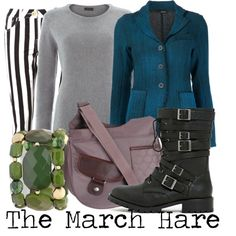 The March Hare  by thestarvingartist1