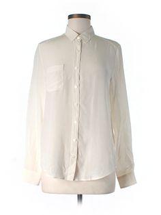 Check it out—Joe Fresh Long Sleeve Silk Top for $16.99 at thredUP!