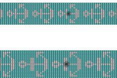 L'ancora loom bead pattern