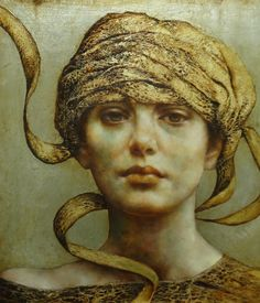 The paintings of Pam Hawkes are not portraits as such. Something else is going on in her richly worked, exquisitely realistic images. Each painting offers up fragments, broken or mirrored images, or self-absorbed reflections of exquisite young women and men. http://www.pamhawkes.co.uk/gallery.php?page=1