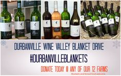 Spend some time with us this weekend and enjoy stunning wines in a beautiful setting - Remember to bring in blankets & tinned food if you wish to donate to the drive. Tasting Room, Wines, Blankets, Beautiful, Food, Eten, Blanket, Rug, Cover