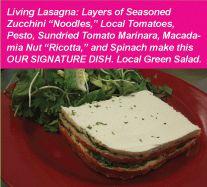 Licious Dishes, LLC, dba Greens & Vines: Gourmet Raw Vegan Food in Oahu, Hawaii