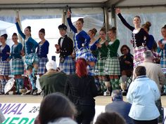 The 2014 Highland Dancing World Champions Show off why they were the best this year. Juvenile: Erin Blair (USA), Junior: Abbie MacNeil (Scotland) and Adult: Marielle Lesperance (Canada).