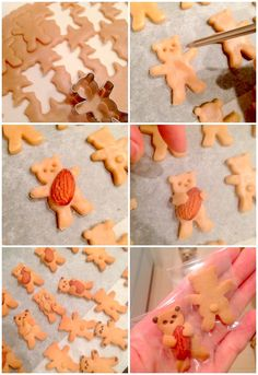 How to o these cute bears cookies