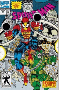 Spider-Man 20 1990 Series March 1992  Marvel Comics Grade