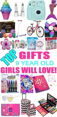 Top Gifts For 9 Year Old Girls Best Gift Suggestions Presents Ninth Birthday Or Christmas Find The Ideas A Bday