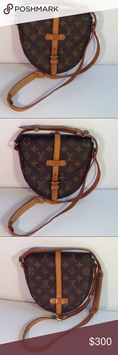 Authentic Louis Vuitton Chantilly PM Monogram Bag. The leather had some sticky inside the pocket. The bag was made in France with a date code MI 8011. The dimension is 7, 6 and 2. Louis Vuitton Bags Crossbody Bags