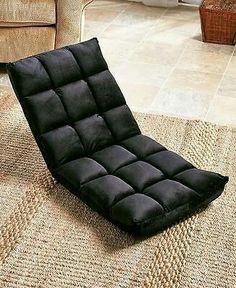 Folding floor cushion