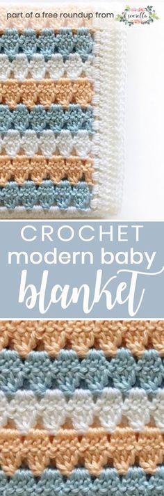 1224 Best Crochet Baby Blankets Images On Pinterest Yarns