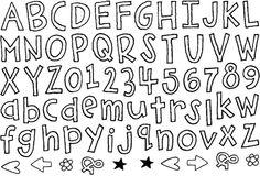 Homegrown Alphabet stamp $17