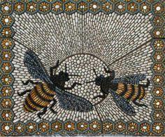 Pebble mosaic via Maggy Howarth