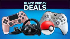 Save big on gaming controllers with Gaming Controller Black Friday 2020 Deals. Take your pick from the best brands including Logitech, Sony and more. Black Friday 2019, Black Friday Deals, Game Controller, Logitech, Games, Toys, Game