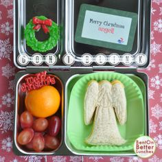 Don't Blink! A Doctor Who Christmas Lunch from 'Bent on Better Lunches'...For more creative ideas for school lunches visit https://www.facebook.com/SchoolLunchIdeas