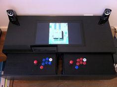 DIY : transformer une table basse IKEA en borne d'Arcade | Semageek