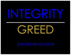 THERE INTEGRITY IS THEIR GREED!!! THAT'S 100%  January | 2014 | iloveyoudeja.