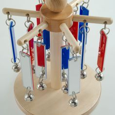 Mirror Chimeabout - Visual Sensory Toy