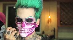 jeffree star ~Halloween makeup