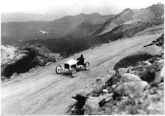 Pikes Peak Hill Climb in Colorado ~ 1922 Living In Colorado, Colorado Homes, Vintage Auto, Vintage Race Car, All Races, Hill Climb Racing, Classic Race Cars, Pikes Peak, Vintage Models