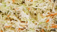 Susan's Vinaigrette Slaw. Try this slaw recipe without mayonnaise when you want a light, fresh salad with just a few simple ingredients. Creamy Coleslaw Dressing, Balsamic Vinegar Coleslaw Recipe, Southern Coleslaw, Cooking Recipes, Healthy Recipes, Ww Recipes, Healthy Salads, Salads, Coleslaw
