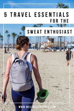 what to bring for working out while on vacation and the must-have items for wokring out while traveling Hotel Workout, Travel Workout, Butt Workout, Fitness Tips, Fitness Motivation, Easy Fitness, Adventure Photos, Adventure Time, Yoga Routine For Beginners