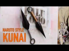 #97: Naruto's Kunai - Cereal Box (free template)   Costume Prop   How To...