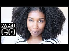 TOP 10 WASH & GO TUTORIALS FOR COILY TYPE 4 HAIR