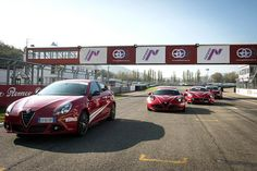 Alfa Romeo Driving Day at Varano Circuit  - Part 2 #AlfaDRivingday