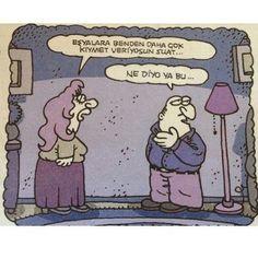 Karikatür komik dramatik