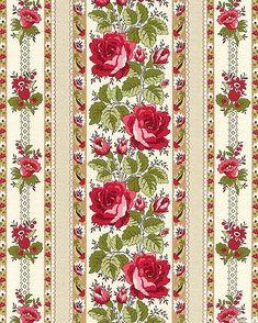 Papel Vintage, Decoupage Vintage, Vintage Paper, Card Patterns, Flower Patterns, Tropical Art, Floral Border, Flower Wallpaper, Paper Background