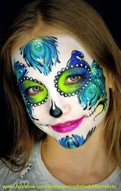 Sugar Skull  Artist: Belinda Wurmitzer