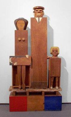 Marisol Escobar 1930 De familie Kennedy 1960 Overzicht - The Israel Museum Permanente Galleries