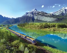 Settle in and prepare to be amazed as you carve your way through the Rockies onboard the award-winning Rocky Mountaineer train. Offering four unique rail routes and renowned for its luxurious glass-dome coaches, Rocky Mountaineer