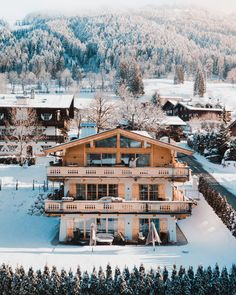 Your Tennerhof Luxury Chalet in Kitzbuehel / Tyrol! House Rooms, Adventure, Mansions, Luxury, House Styles, Travel, Instagram, Home, Giveaway