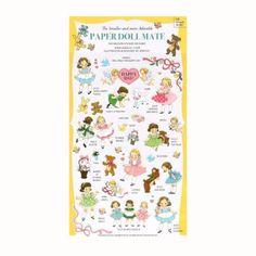 Paper Doll Mate Diary Stickers (◕ᴥ◕) Kawaii Panda - Making Life Cuter
