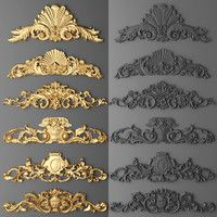 frame cartouches SET Model available on Turbo Squid, the world's leading provider of digital models for visualization, films, television, and games. Diy Furniture Repair, Baroque Frame, Voronoi Diagram, 3d Frames, Decorative Plaster, 3d Panels, Door Molding, Art Nouveau Design, 3d Max