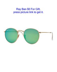 65242d50c3dff Polarized Round Metal-Frame Sunglasses with Green Mirror Lens by Ray-Ban at  Bergdorf Goodman. Juan Villatoro · LENTES PARA SOL