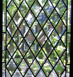 BACK to custom all beveled diamond leaded glass windows
