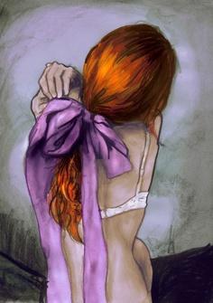 La inspiración en imágenes: Martina de EN LA TOSCANA TE ESPERO (dibujo de Danny Roberts)