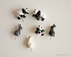 The cutest pushpins on the planet — Animal Push Pins   Papercookie