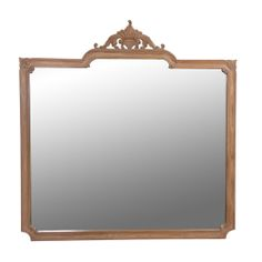 Carved Oak Large French Wall Mirror http://www.la-maison-chic.co.uk/Item/Carved_Oak_Large_French_Wall_Mirror