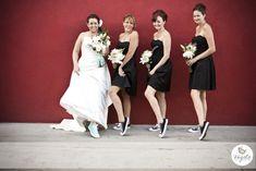 Brides Revolt With Converse