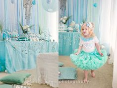 perfect little girl birthday party <3