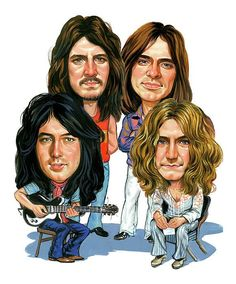 With their heavy, guitar-driven blues-rock sound, Led Zeppelin are regularly cited as one of the progenitors of heavy metal. Description from comicvine.com. I searched for this on bing.com/images