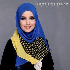 Aizul | Marcello: Photoshoot Hijab with Radiusite! .... she looks nice in hijab