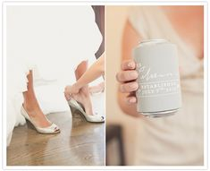 Great custom wedding favors! check out these low prices! totallyweddingkoozies.com