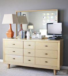 Before: Nondescript Dresser
