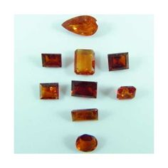 #WHOLESALE 15 ct Lot of Faceted #Orange Spessartine #Garnets from Pakistan  Item specifics: Size: Varies Shape/Cut: Varies Clarity: I-SI Weight: 15 cts Treatment: None Origin: Pakistan Quantity: 1, Lot #7152-5 Color: Orange http://wiredreamers.com/prestashop/index.php?id_product=601&controller=product