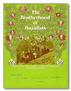 Signed poster for the Brotherhood of Ruralists in For more on David Inshaw's life and work see « the David Inshaw website and online gallery Elizabeth Siddal, Peter Blake, Pre Raphaelite, Online Gallery, Lovers, Graphic Design, Artists, Poster, British
