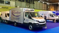 Our fab exhibits at The CV Show. Our technical & production teams have done the most wonderful job. Big thanks for all their great work. #Coolertechltd #CVShow #refrigeratedvehicle #refrigeratedvan #fridgebody #fridgevan #insulatedvehicle #insulatedvan #chiller #temperaturecontrolledvehicle #temperaturecontrolledvan #commercialvehicle #vehicle #van #lorry #truck
