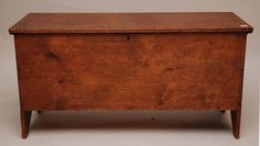 six board New England Chest